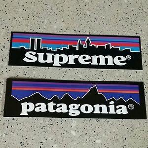 Supreme x Patagonia Sticker pack